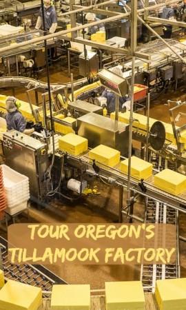 Tillamook Cheese Factory tour, Tillamook Oregon