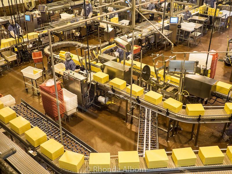 Tillamook Cheese Factory tour, Tillamook Oregon USA
