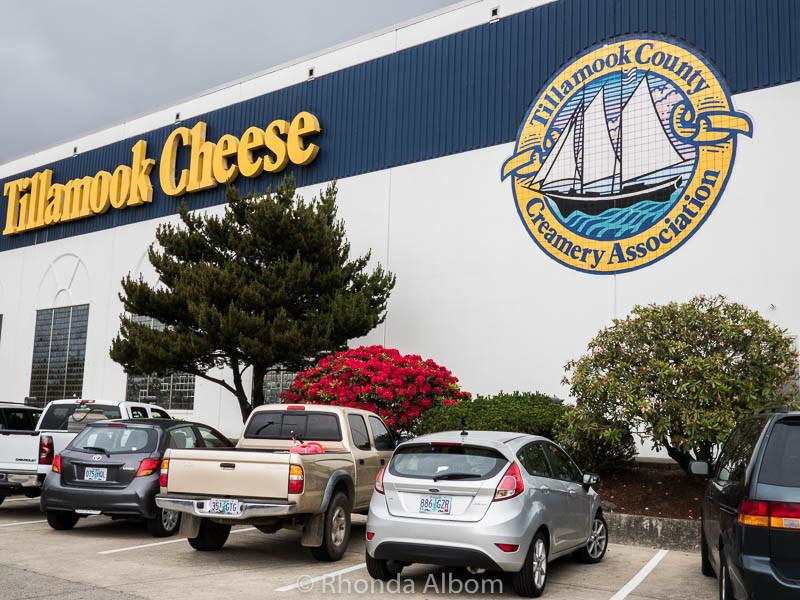 Tillamook Cheese Factory, Tillamook Oregon