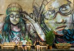 """Suspended"" by Alice Pasquini in Germany"