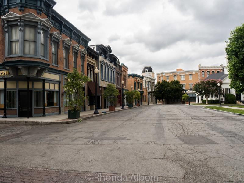 Anytown USA at Warner Bros Studio