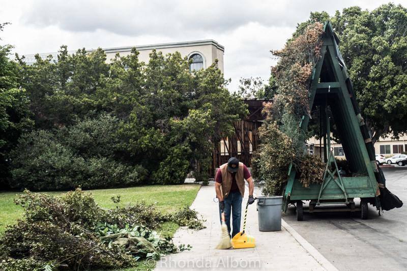 A bush wagon at Warner Bros