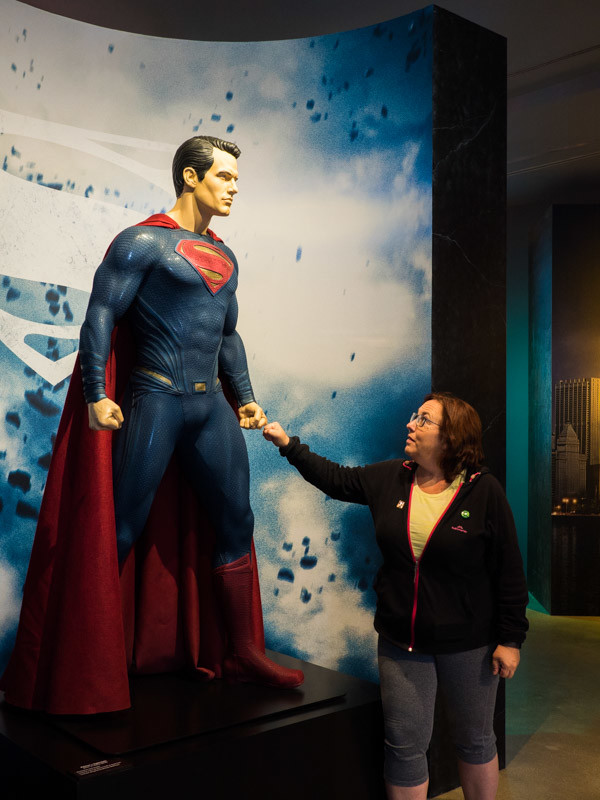 Superman at Warner Bros Studio Tour
