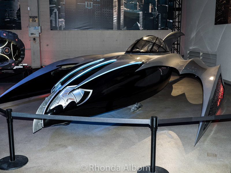 Bat Mobiles at Warner Bros