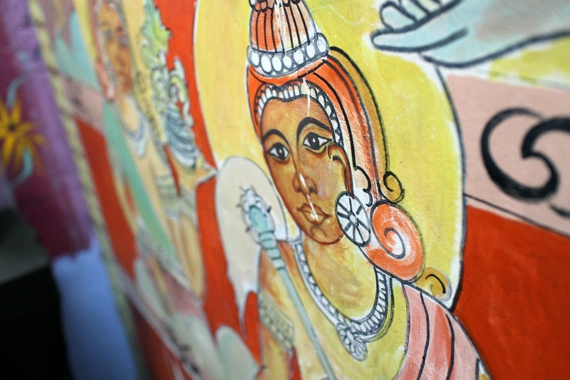 Street art in Sri Lanka