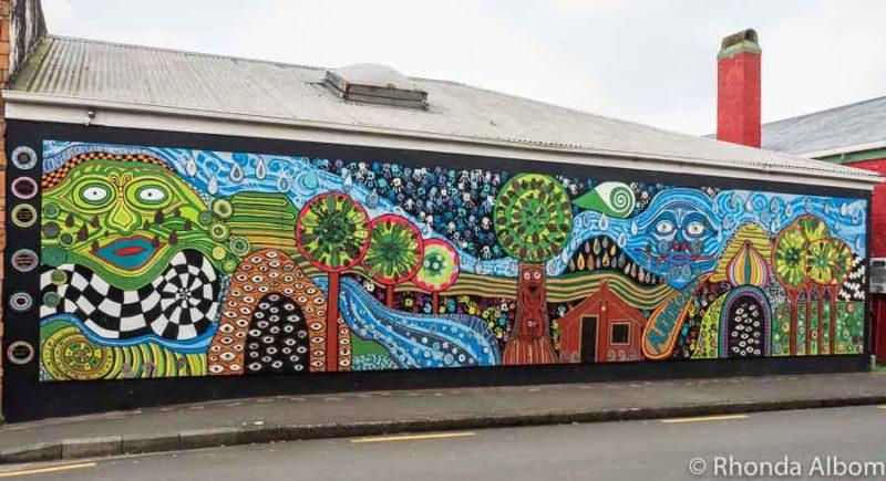 Street Art in Kawakawa New Zealand