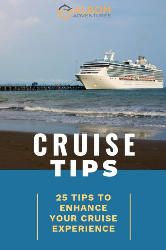 Cruise hacks for experienced cruiser as well as first timers