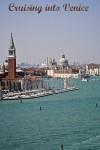 Cruising into Venice Italy along the Venetian Lagoon