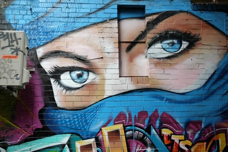 MelbourneCBD Street Art by Aga Kozmic of A Matter of Taste.