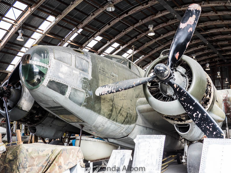 This is a Ventura, a World War II plane at MOTAT in Auckland New Zealand