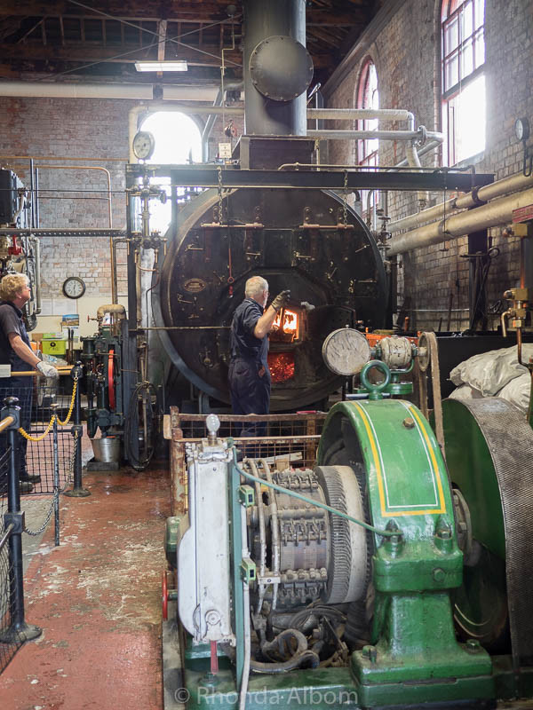 Pump house at MOTAT in Auckland New Zealand