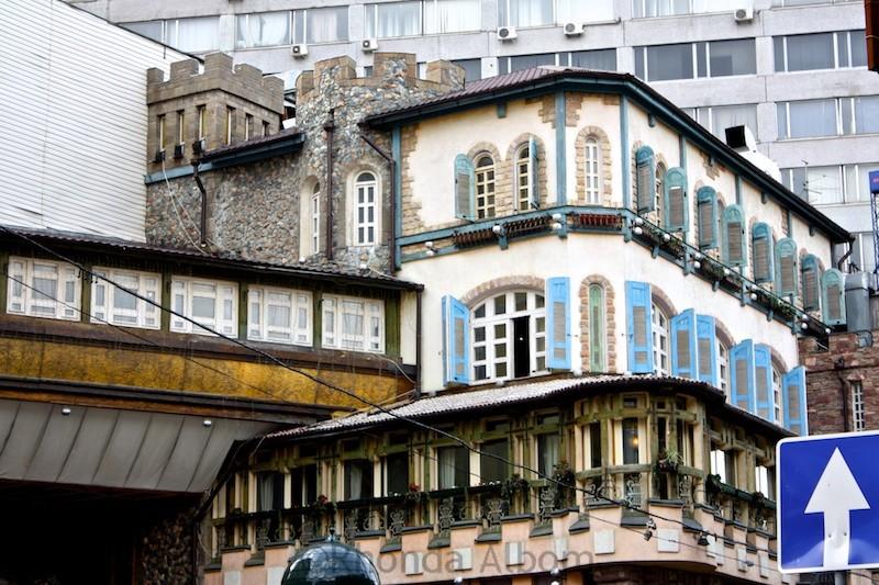 Architecture on Arbat Street
