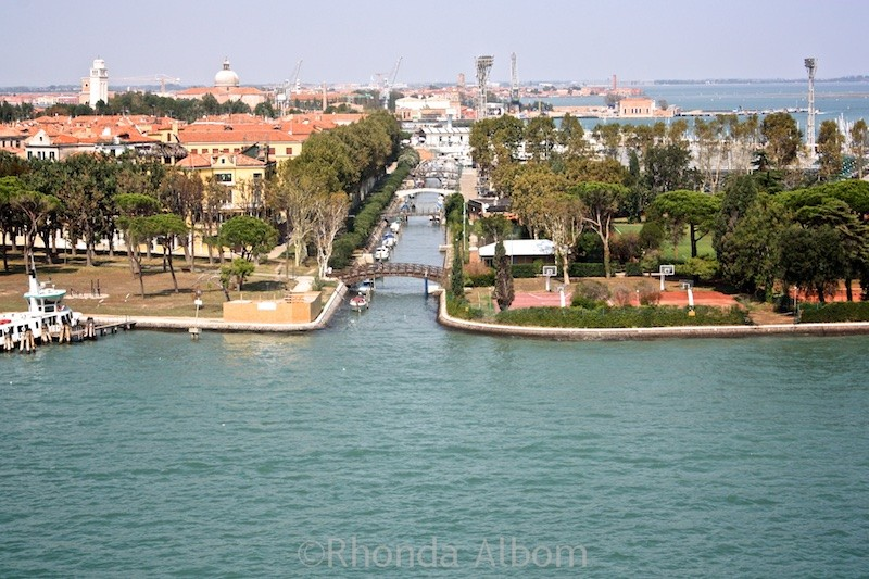 Cruising into Venice Italy on the NCL Spirit 1