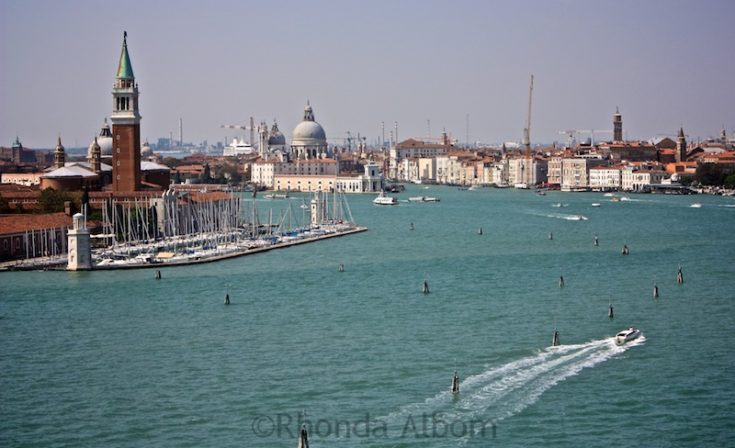 Photo Tour: Cruising into the Port of Venice Italy