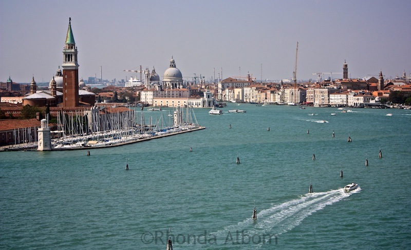 Cruising into Venice Italy on the NCL Spirit 2