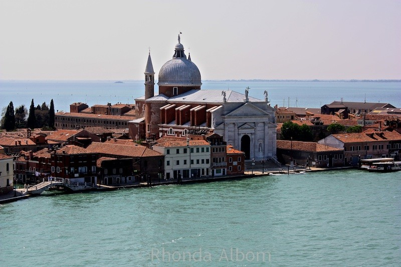 Cruising into Venice Italy on the NCL Spirit 5