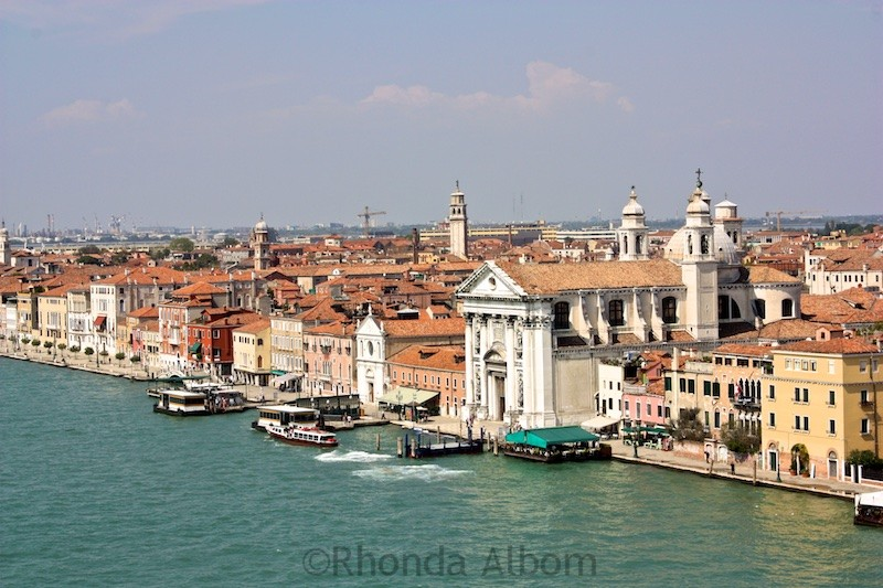 Cruising into Venice Italy on the NCL Spirit 6