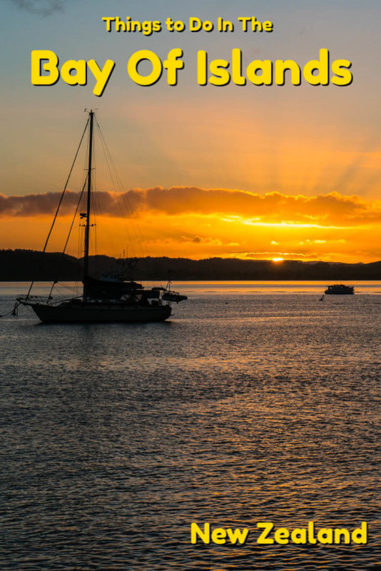 Spectacular sunsets, natural beauty, adventure, culture and history, there are plenty of things to do in the Bay of Islands on the North Island of New Zealand.