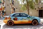 Street Art seen in Bastakiya in Dubai, UAE