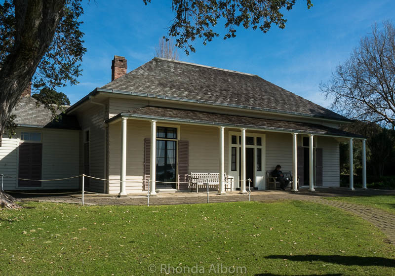 Home of James Busby, co-author of the Treaty of Waitangi in New Zealand