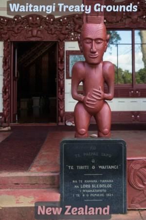Waitangi Treaty Grounds in New Zealand.