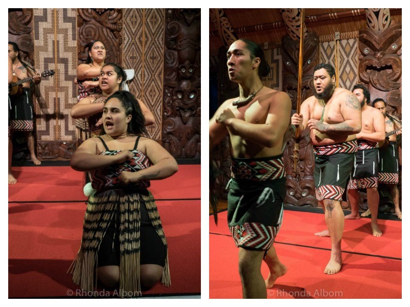 Cultural Show at Waitangi Treaty Grounds in New Zealand