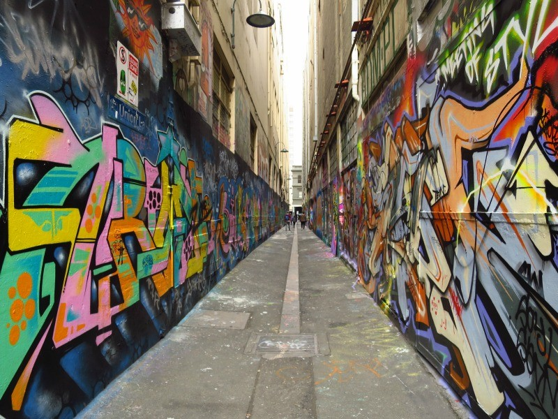 Union Lane Melbourne Australia photo by beer-and-croissants
