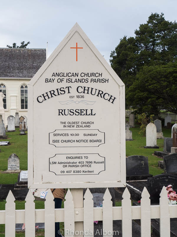 New Zealand's Oldest Church located in Russell
