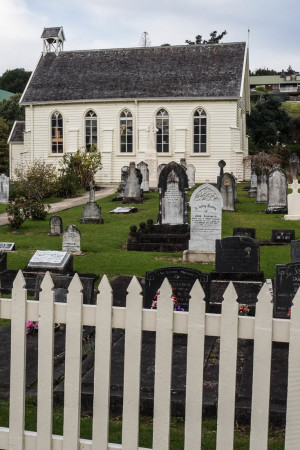 Christ Church is New Zealand's Oldest Church established in 1836