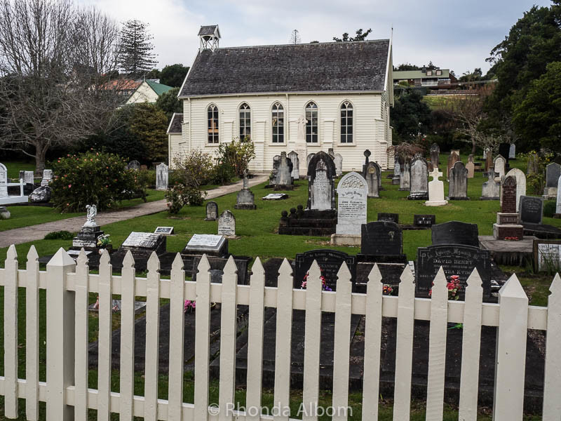 Photo Friday - Albom Adventures - Musket Holes in New Zealand's Oldest Church - http://www.albomadventures.com/new-zealands-oldest-church/