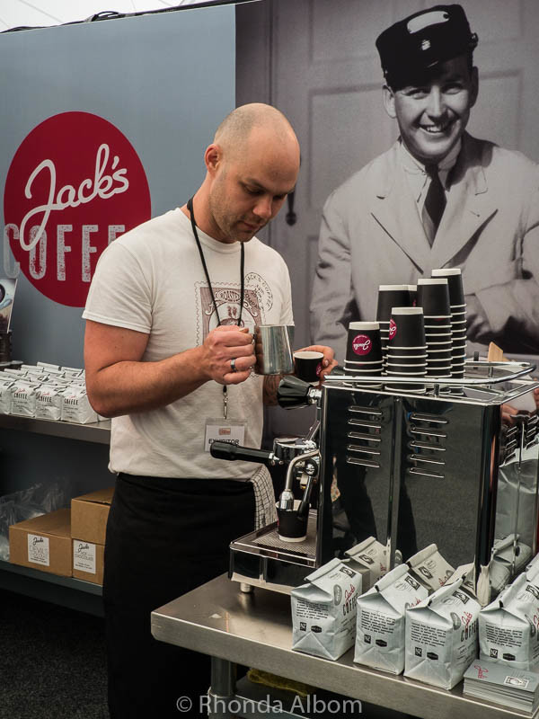 Jack's Coffee at The Chocolate and Coffee Show in Auckland New Zealand