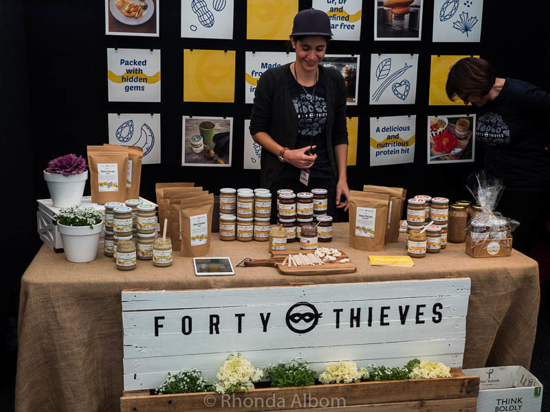 Forty Thieves Nut Butters at The Chocolate and Coffee Show in Auckland New Zealand