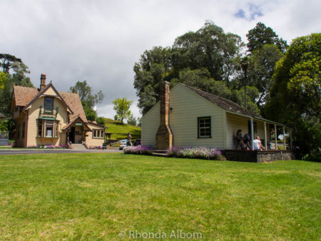 Acacia Cottage is Auckland's oldest surviving building located in Cornwall Park, Auckland New Zealand