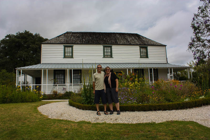 Kemp House, or mission house,  is the oldest surviving European building in New Zealand.