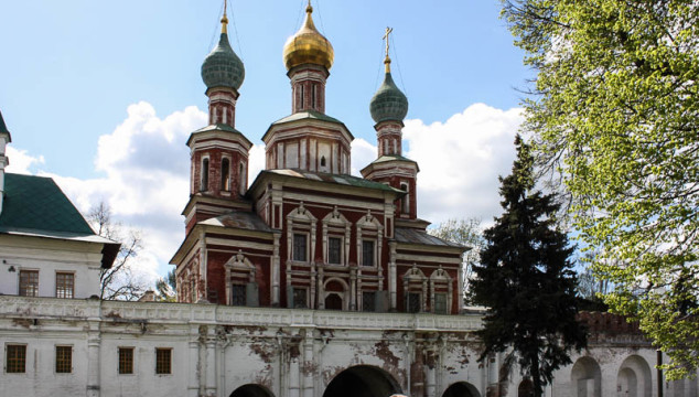 Novodevichy Convent in Moscow Russia