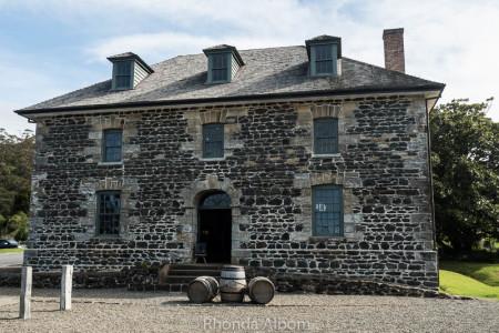 Stone Store in Kerikeri. New Zealand's oldest surviving stone building