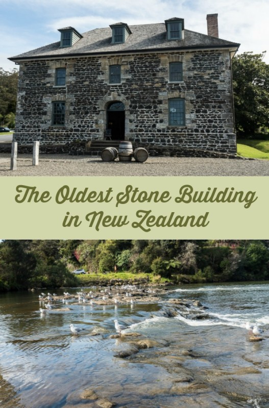 Stone Store in Kerikeri. New Zealand's oldest surviving stone building and part of the Kerikeri Mission Station