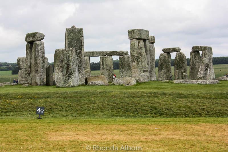 Classic Stonehenge Image in England
