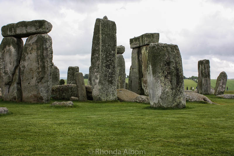 Closer look at Stonehenge