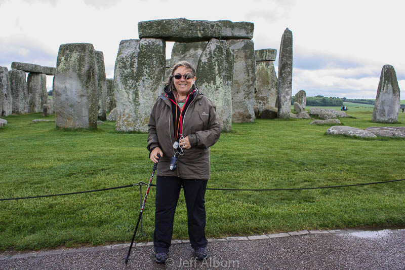 Me at Stonehenge in England