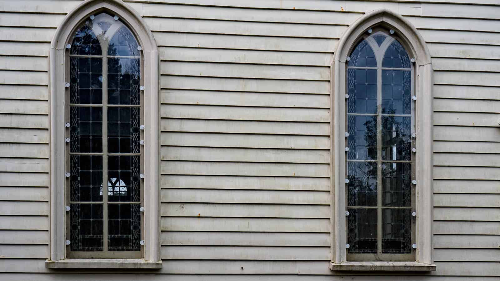 Musket Holes in New Zealand's Oldest Church