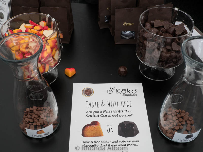 Kako Chocolate at The Chocolate and Coffee Show in Auckland New Zealand
