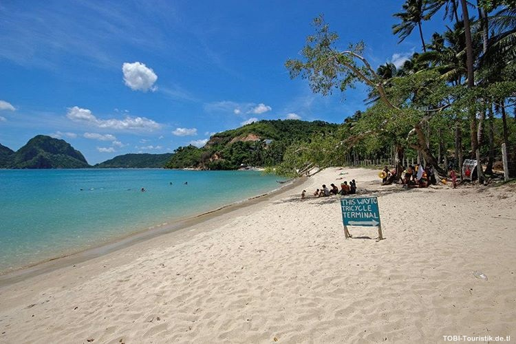El Nido, a Palawan beach in the Philippines