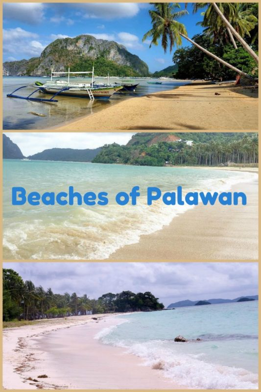 Beaches in Palawan Philippines