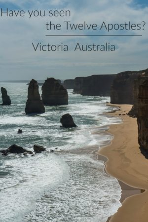 Twelve Apostles is one of several stunning sites along the Great Ocean Road in southern Australia