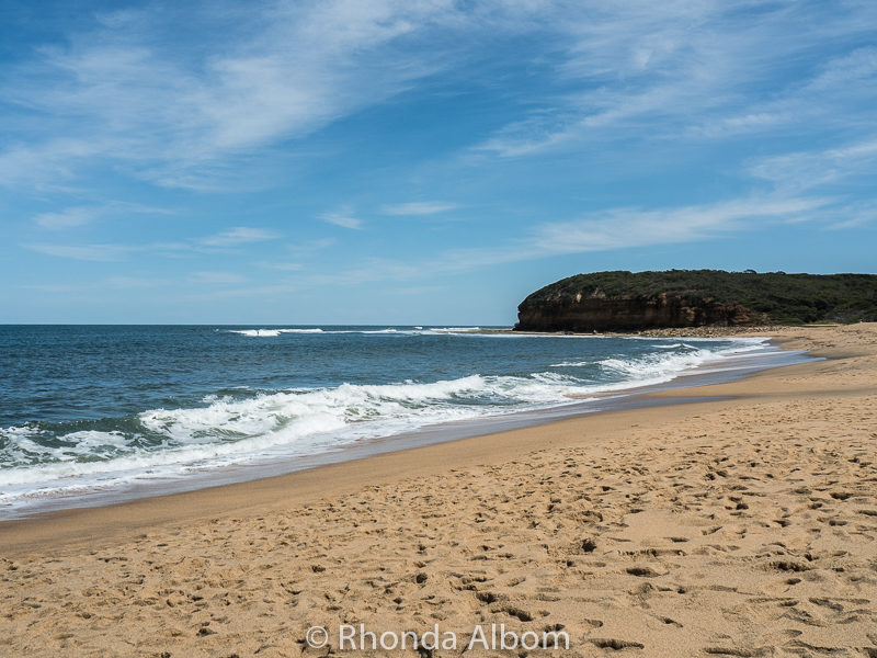 Bells Beach the most famous of the Great Ocean Road Beaches in Victoria Australia