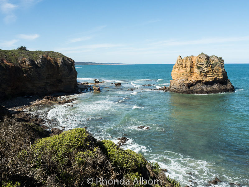 View from Split Point Lighthouse on the Great Ocean Road, Victoria Australia