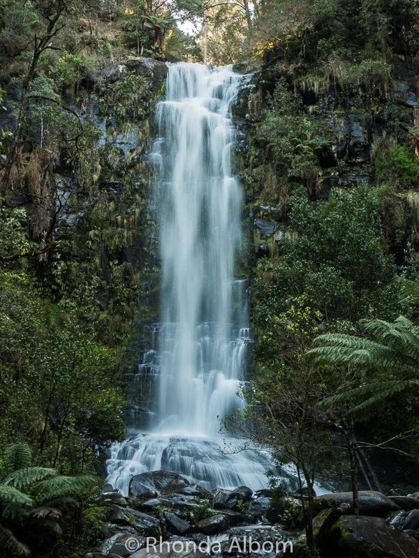 Erskine Falls in Lorne, Australia