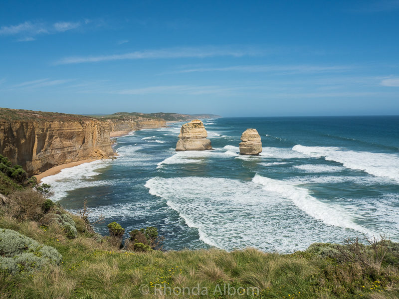 Looking east from Twelve Apostles in Australia