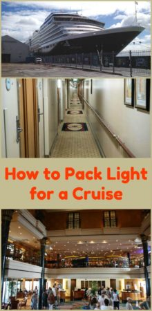 Packing light is easy, even for a cruise. You can have all the cruise essentials with these tips.